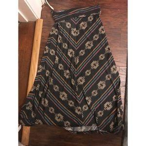 Maxi skirt, target